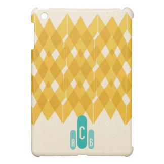 Charlie Brown Chevron Monogram Cover For The iPad Mini