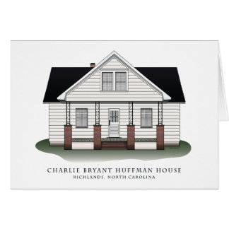 Charlie Bryant Huffman House Note Cards