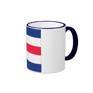 Charlie (C) Signal Flag Ringer Coffee Mug