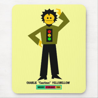 "Charlie ""Cautious"" Yellobellow Mouse Pad"