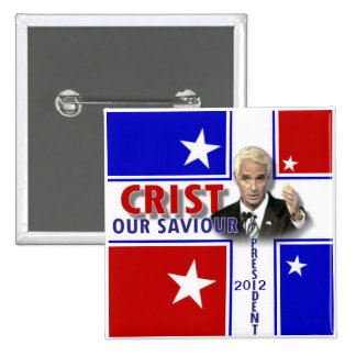 Charlie Crist 2012 button