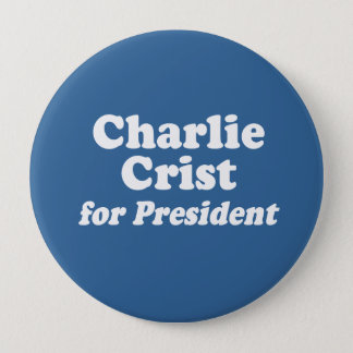 CHARLIE CRIST FOR PRESIDENT BUTTON