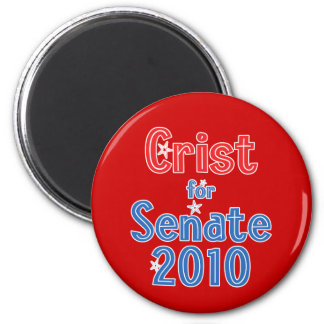 Charlie Crist for Senate 2010 Star Design Magnet