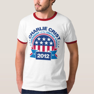Charlie Crist para el presidente 2012 Playera