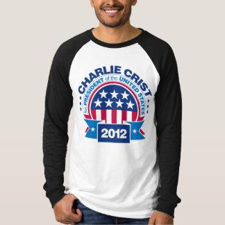 Charlie Crist para el presidente 2012 Poleras