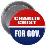CHARLIE CRIST PARA EL SENADO PINS