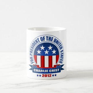 Charlie Crist Taza Básica Blanca
