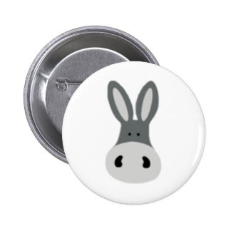 Charlie Donkey Pinback Button