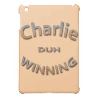 Charlie Duh Winning iPad Mini Case