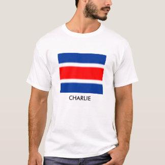 CHARLIE FLAG T-SHIRT