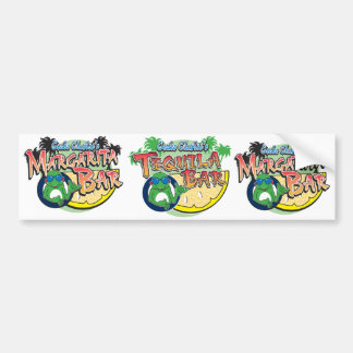 Charlie Geckos Margarita Bar Bumper Sticker