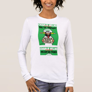 CHARLIE HELNO (in French) Long Sleeve T-Shirt