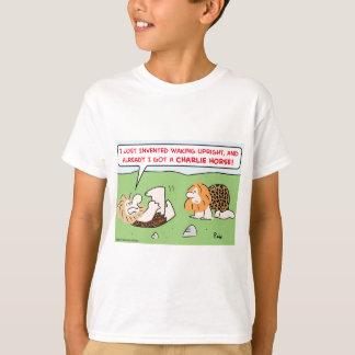 charlie horse caveman T-Shirt