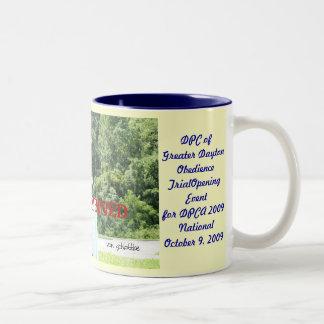 Charlie.jump.40inch, DPC ofGreater DaytonObedie... Two-Tone Coffee Mug