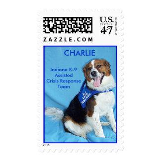 Charlie K9 Crisis Responder, Indiana K-9 Assist... Postage