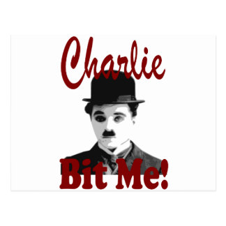 Charlie me mordió tarjetas postales