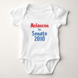 Charlie Melancon for Senate 2010 Star Design Baby Bodysuit