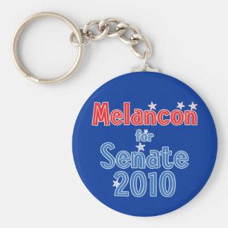 Charlie Melancon for Senate 2010 Star Design Keychain