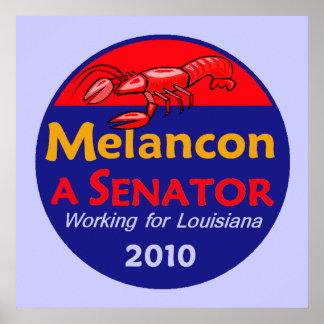 Charlie Melancon Senate 2010 Louisiana Dem Poster