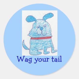 Charlie Mutz, Wag your tail Sticker