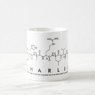 Charlie peptide name mug