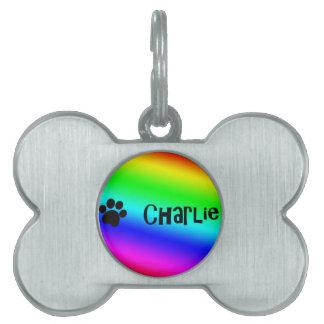 Charlie Placa De Nombre De Mascota