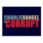 Charlie Rangel es corrupto Postal