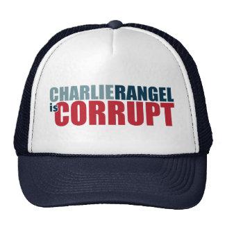 Charlie Rangel is Corrupt Mesh Hat