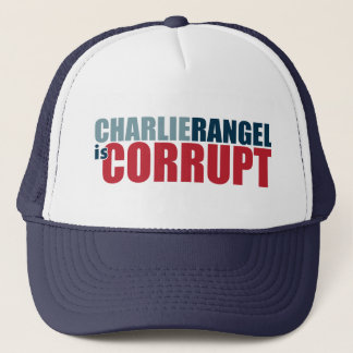 Charlie Rangel is Corrupt Trucker Hat