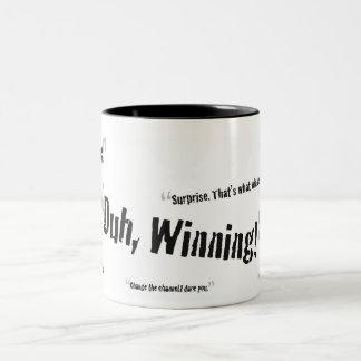 Charlie Sheen Quotes Mug