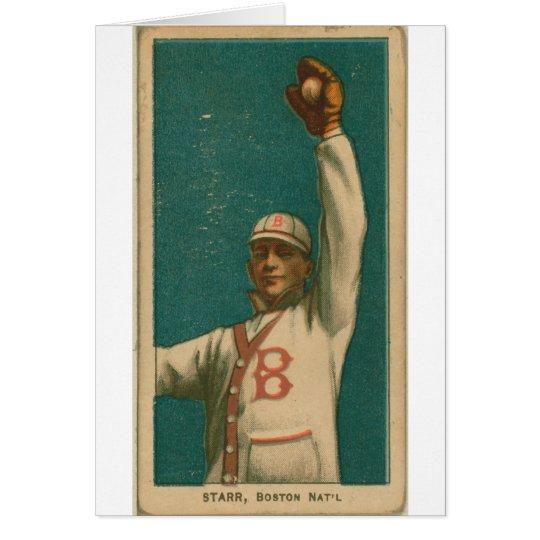 Charlie Starr, Boston Doves Card