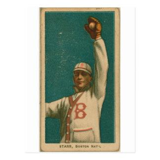 Charlie Starr, palomas de Boston Postales
