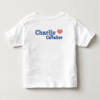Charlie the Cavalier Toddler Shirt