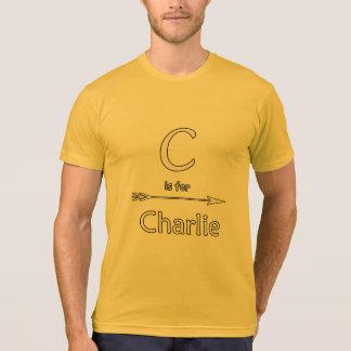 Charlie tshirts name