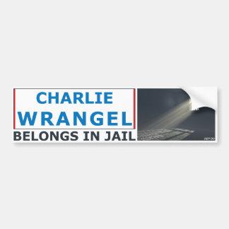 Charlie Wrangel Car Bumper Sticker