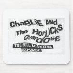 Charlie y la sobredosis de Horlicks - el cojín de  Tapetes De Ratón