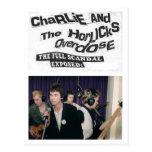 Charlie y la sobredosis de Horlicks - la postal