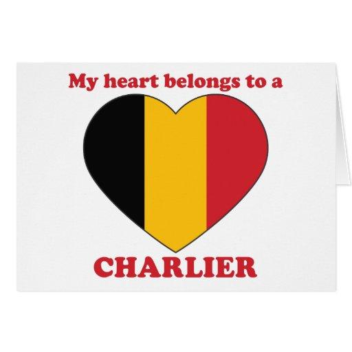 Charlier Greeting Card