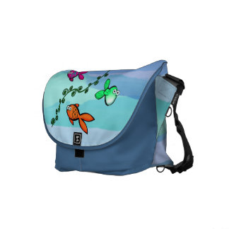 Charlie's Fishies Messenger Bag