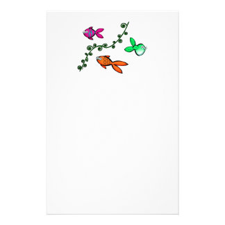 Charlie's Fishies Stationery