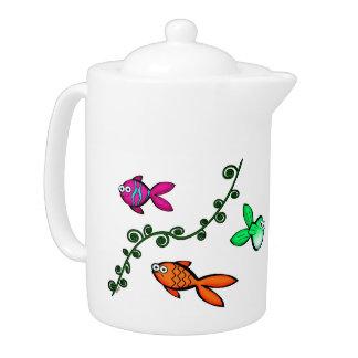 Charlie's Fishies Teapot
