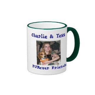 CharlieTess copy, Charliecopy, Charlie & Tess, ... Ringer Coffee Mug