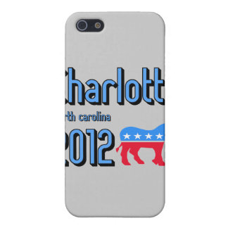 charlotte 2012 case for iPhone SE/5/5s