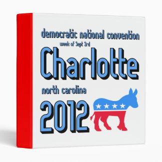 Charlotte 2012 convention binder
