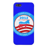 Charlotte 2012 Democrat Convention Covers For iPhone 5