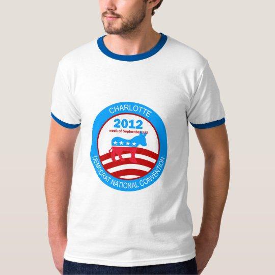 Charlotte 2012 Democrat Convention T-Shirt