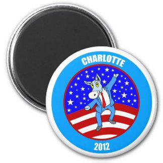 Charlotte 2012 DNC Imán