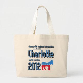 Charlotte 2012 large tote bag