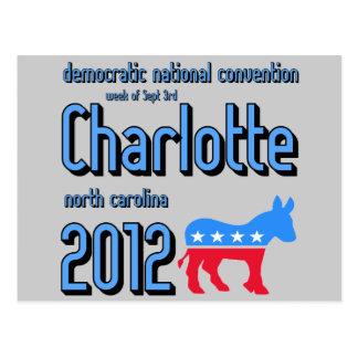 Charlotte 2012 postales