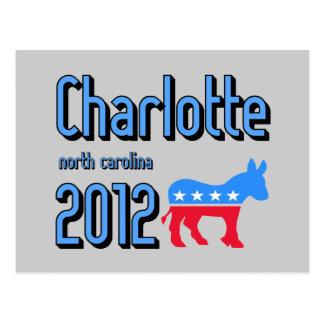 Charlotte 2012 postcard
